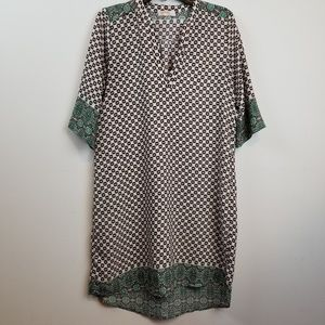 Rene C. BOHO 3/4 sleeve dress size large